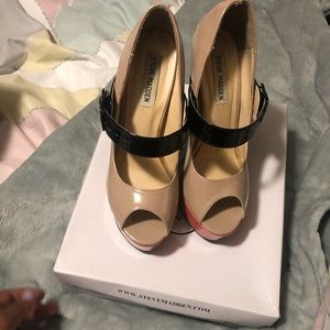Steve madden heeled mary janes